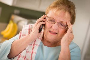 Tips to protect seniors from phone fraud